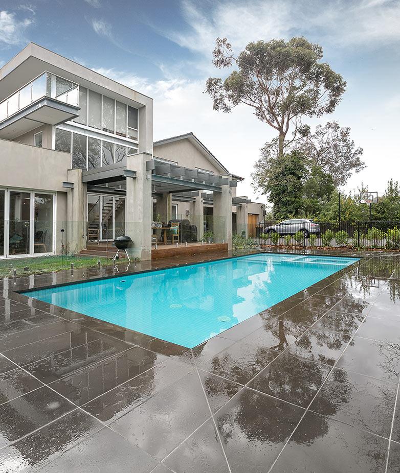 Court Yard Pool Melbourne
