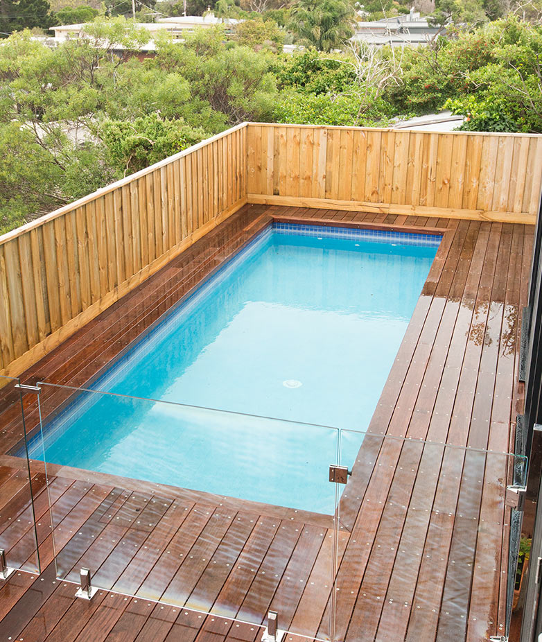 Pool for Sloping Blocks Melbourne, Victoria, Australia