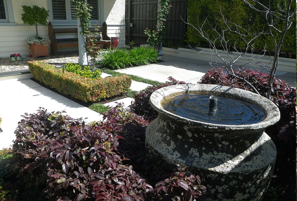 pool landscaping melbourne