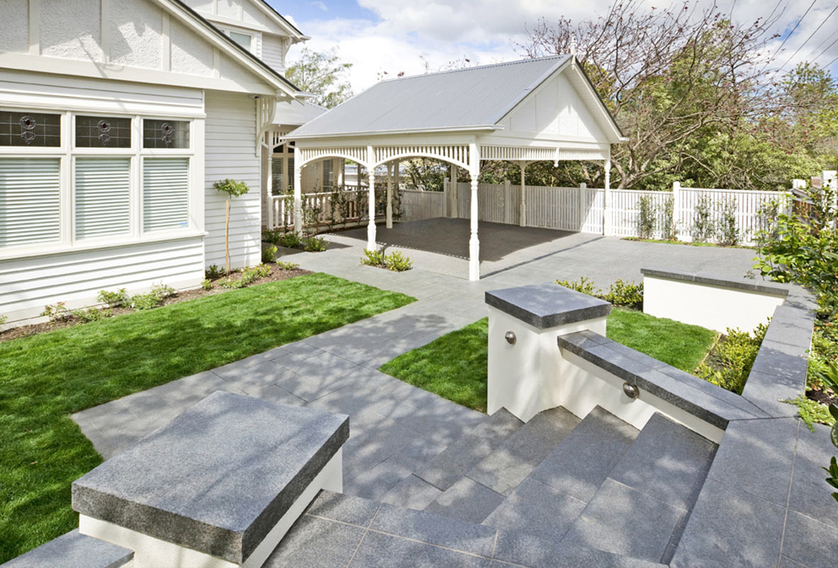 pool landscaping design mornington