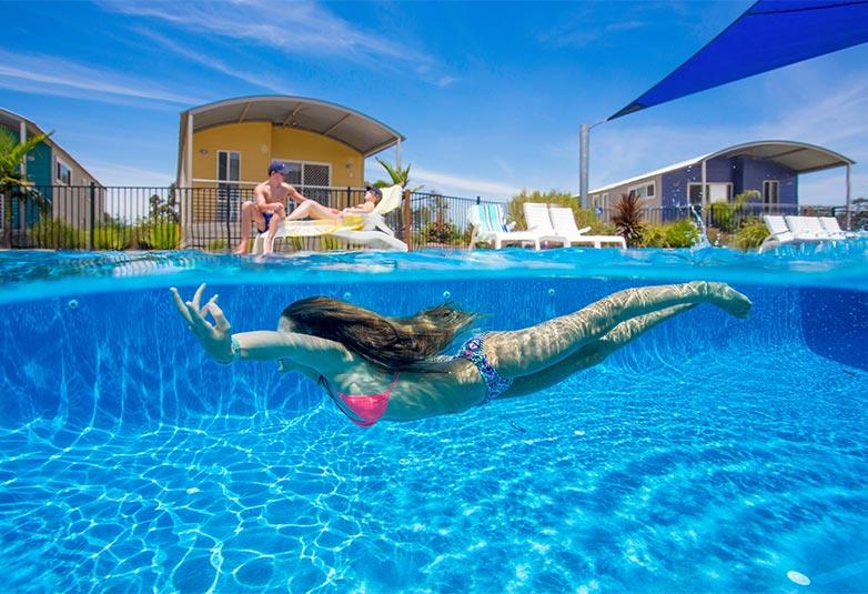 free form natural pools melbourne