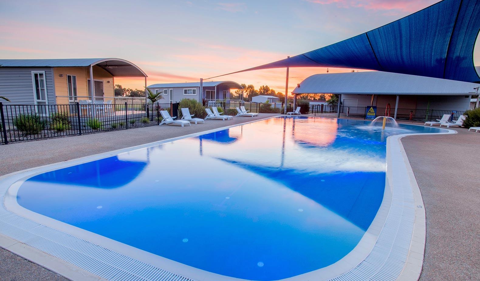 free form natural pools