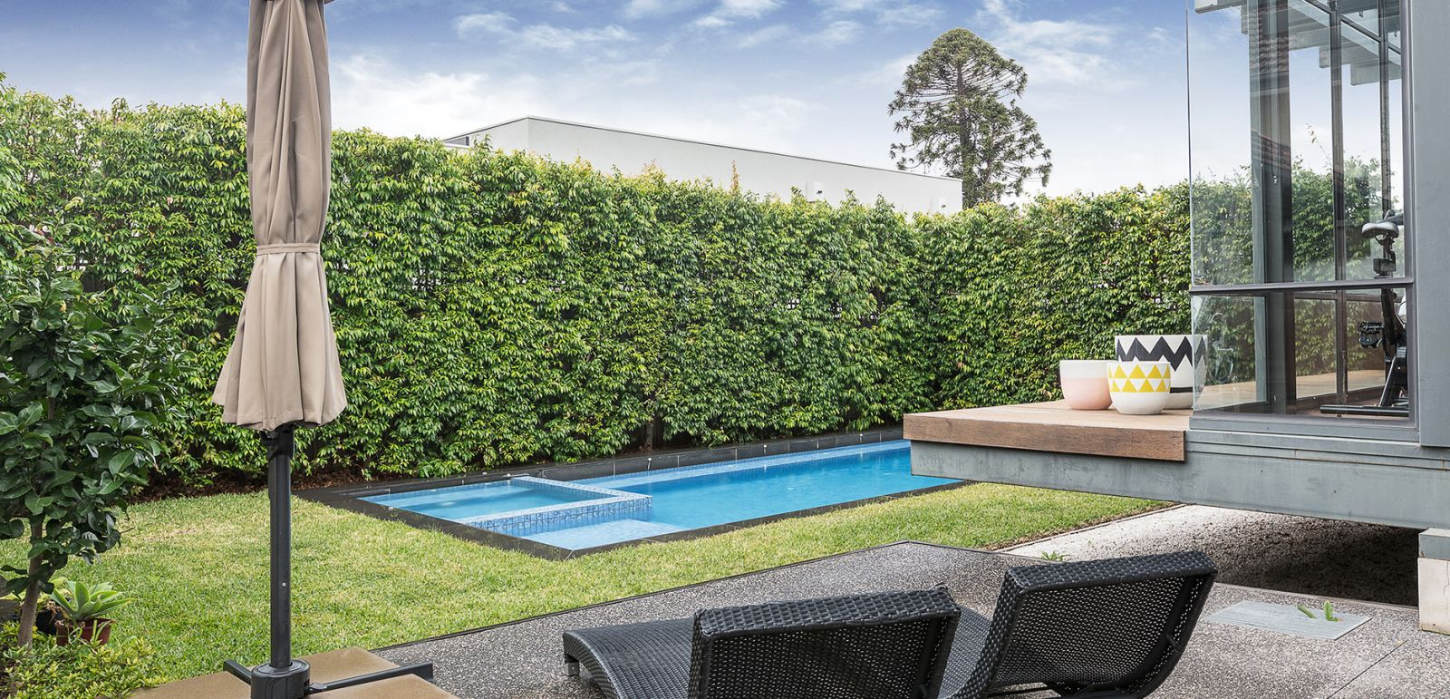 court yard pools melbourne