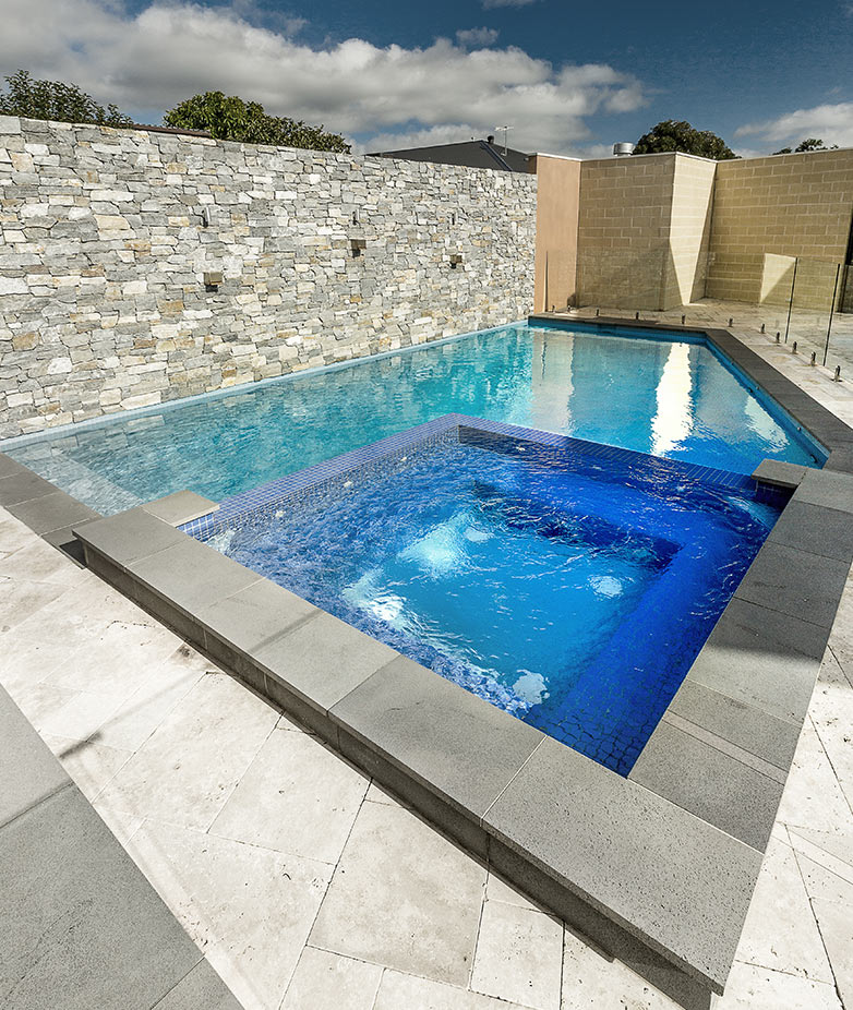 Swimming Pool with Spa Builders Melbourne, Victoria, Australia