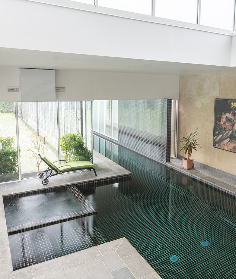 Indoor Swimming pools design by Eco Pools