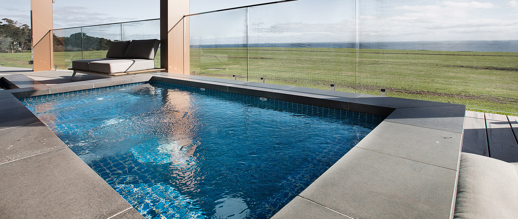 Luxury pools & spas
